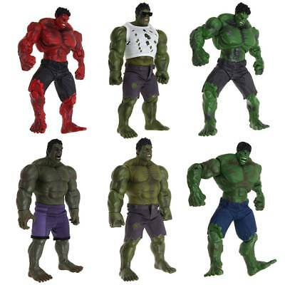 Marvel Comics INCREDIBLE RED HULK Rosso Action Figure Avengers 26cm