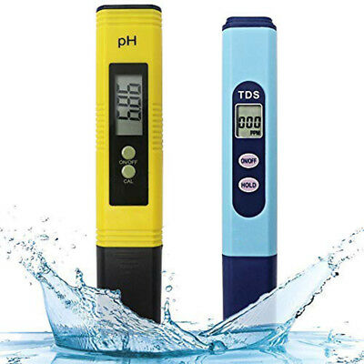 Water Quality Test Meter,Ph Meter Tds Meter 2 in 1 Kit with 0-14.00Ph and 0-9 Q5