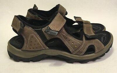 f0088915a5c883 Ecco Men s Receptor Technology Sport Yucatán Sandals Brown Size US 8 ...