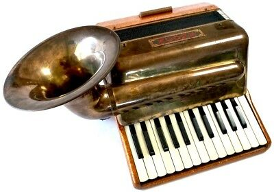 Tombo ACONY Bizarre Hybrid of Brass Instruments & Accordion 1965 Japan RARE!!