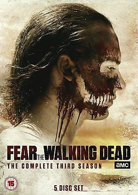 """fear the walking dead"" DVD season 3 / series three zombie action"