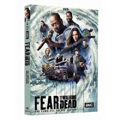 """fear the walking dead"" DVD season 4 / series four zombie action"