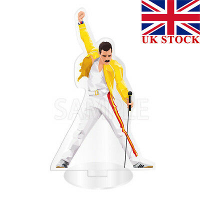 Bohemian Rhapsody 2018 Movie QUEEN Freddie Mercury Acrylic Stand Figure Toy