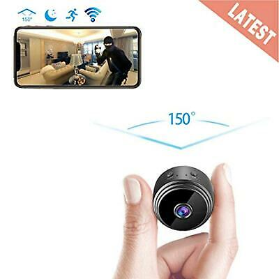 AREBI Spy Camera Wireless Hidden WiFi Camera AREBI HD 1080P Mini Camera Portable