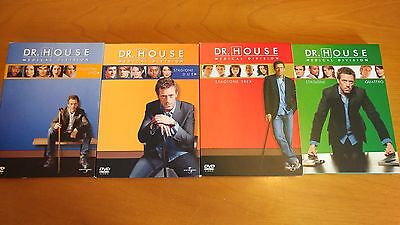 Cofanetto DR. HOUSE MD - Stagioni 1-2-3-4 complete - 22 dvd