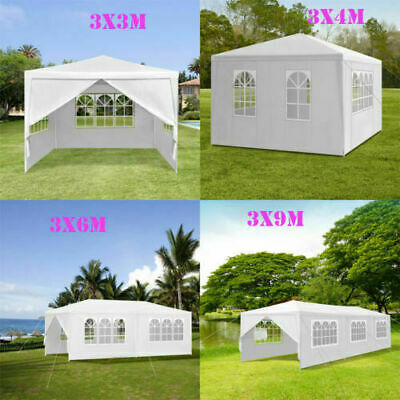 3x3 3x4m 3x6m 3x9m Waterproof Outdoor PE Garden Gazebo Marquee Canopy Party Tent