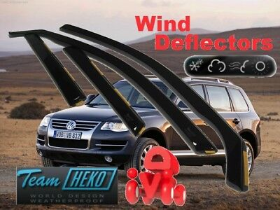 VW Touareg  2003 - 2010 Wind deflectors  4.pc  HEKO  31148