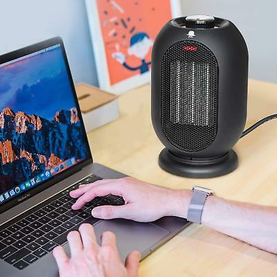 Small Space Heater,1200W/700W Electric Heater, Ceramic Heater with fan