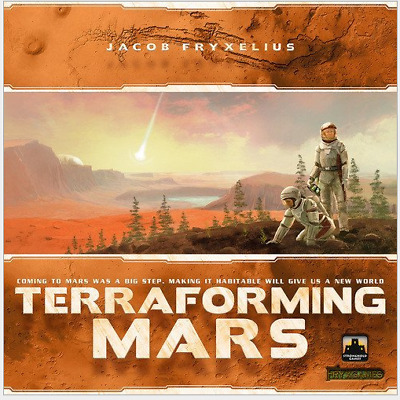 Hot Terraforming Mars Board Game by Stronghold Game Familien Fun Party Game DE