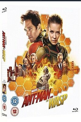Ant-Man and the Wasp [Blu-ray] With Bonus Features! Fast Shipping !