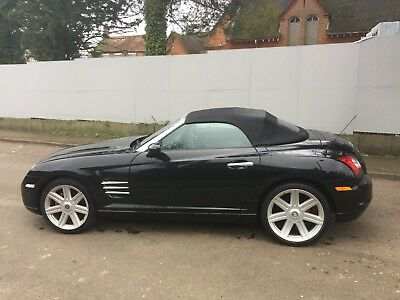 2005(05) Chrysler Crossfire 3.2 Manual Convertible - Heated Leather, Only 92k