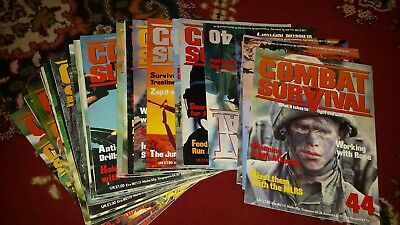 Pick your issue number Combat and survival magazine book