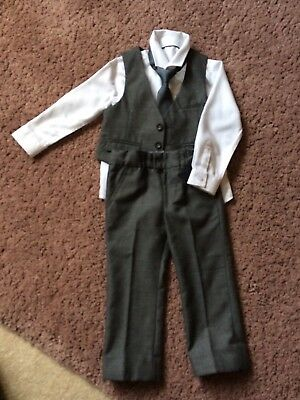 M&S Wedding Outfit Boys Age 2-3