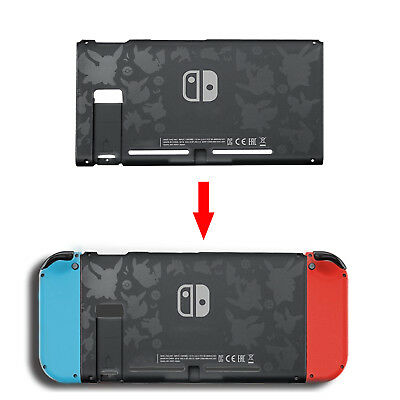 Replacement Back Housing Shell Protective Case Cover for Nintendo Switch Console