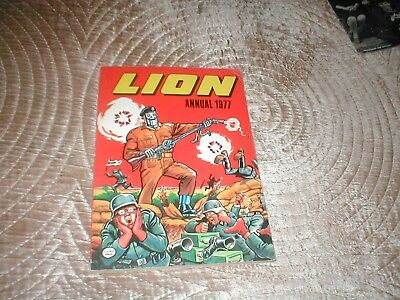Lion Annual 1977 - lovely condition