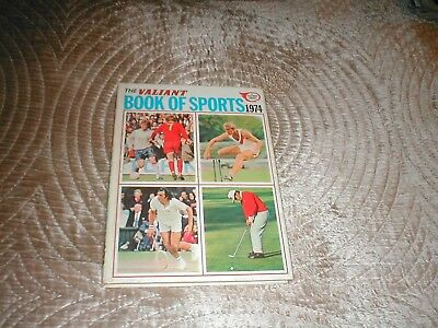 The Valiant Annual / Book Of Sports 1974 Lovely condition