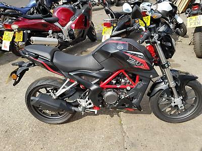 2016 66 BENELLI BN251 250 A2 LICENSE STREET FIGHTER STYLING NAKED 250cc