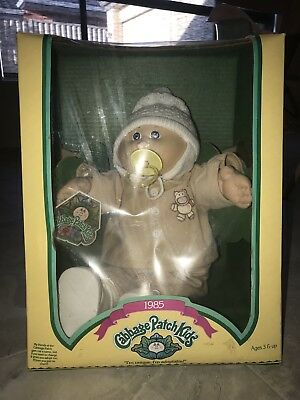 CPK Paci Boy Double Dimples Vintage And NRFB Mint 1985