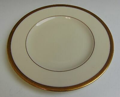 Lenox China TUXEDO - GOLD STAMP Bread & Butter Plate VERY GOOD