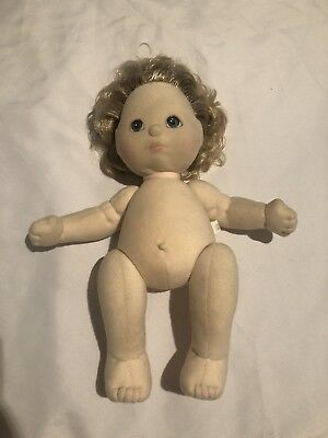 Mattel My Child Doll Short Hair No Stamp Blue Eyes Collectable