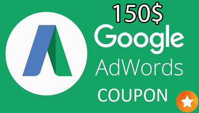 300$ Google Adwords Credit (150$+150$)