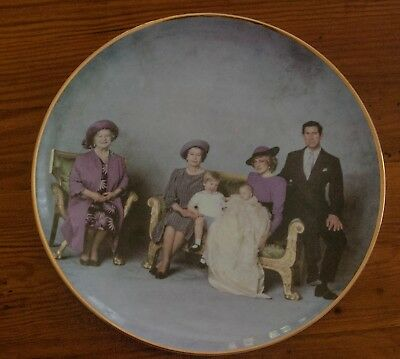 """Four Generations"" Their Royal Highnesses -Royal Winsor Fine Bone China"