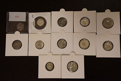 Ancient Roman denarius collection + two other ancient silver coins