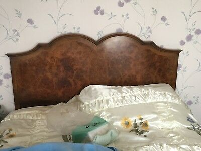 Walnut Veneer Headboard