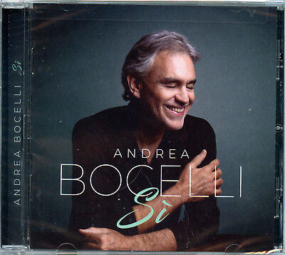 "ANDREA BOCELLI ""SI"" CD / BRAND NEW SEALED / Free Shipping"