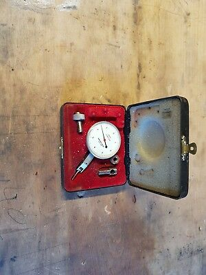 Mercer Dial Test Indicator with case