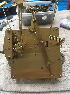 Hermle Westminster Chime Grandfather Clock Movement Parts Or Restoration