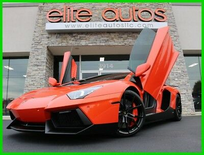 2015 Lamborghini Aventador LP700-4 2015 Lambo Aventador LP700-4 only 3k miles LOADED WITH CARBON FIBER $$$ Extras