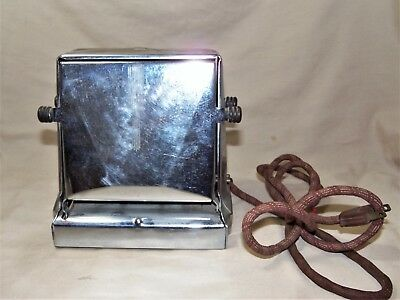 1930s Proctor & Schwarz Turn-O-Matic DropSide Toaster 1453 Art Deco Works 7771