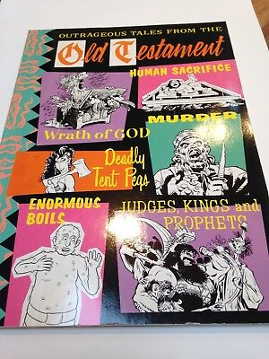 Outrageous Tales From The Old Testament - Knockabout Comics RARE Adult Humor