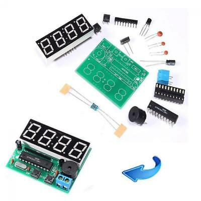 New Hot Sale DIY Kit Digital Electronic C51 4 Bits Clock Kits LED Production