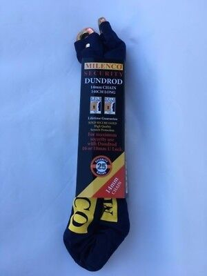 Milenco Dundrod 12Mm Chain (180Cm Long) Motorcycle Bike Security - 2271