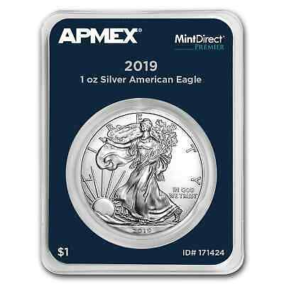 2019 1 oz Silver American Eagle (MintDirect® Premier Single) - SKU#171424