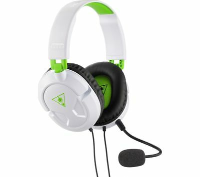 TURTLE BEACH Ear Force Recon 50X 2.0 Gaming Headset - White & Green - Currys