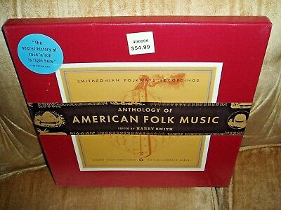 Harry Smith Smithsonian Folkways Anthology American Folk Music 6CD Box Set - NEW