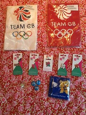 Official London 2012 Olympic Games Pin Badges & Official Glasgow 2014 Bundle Ltd