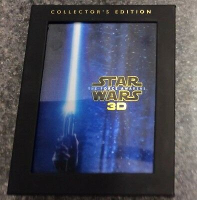 Star Wars The Force Awakens 3d Collectors Edition Blu-ray