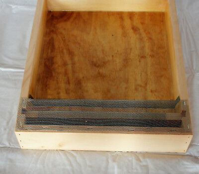 Miller Hive Top Feeder 10 Frame Pine Langstroth Beehive - FREE SHIPPING