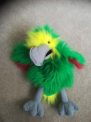 The Real Puppet company parrot hand puppet