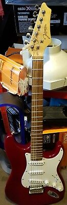 Johnson ST 6 String Electric Guitar Red