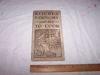 1906 MALLEABLE STEEL RANGE CO How to Cook SMITH & CURTIS CLINTON INDIANA