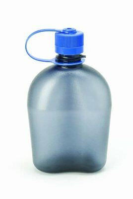 Nalgene BPA Free Tritan Oasis Canteen 32 Oz Narrow Mouth Bottle (Gray)