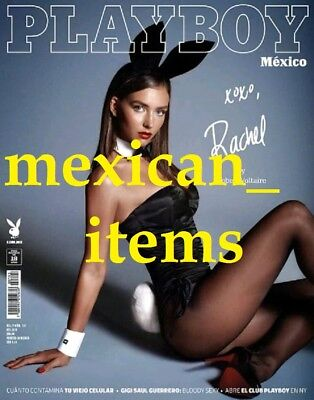 Rachel Cook Playboy Mexican Magazine 2018 Mexico Spanish Sexy Hot November Rare