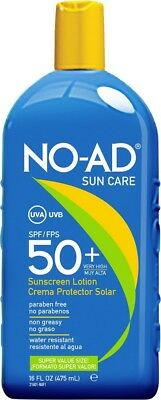 NO-AD Sun Care Sunscreen High Protection Sun Cream Lotion SPF 50+ 475ml