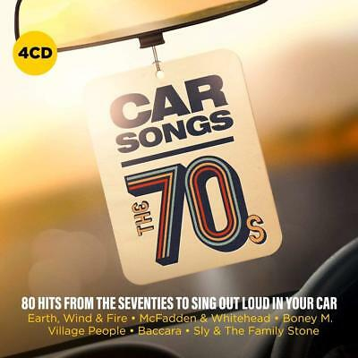 Various Artists - Car Songs: The 70`S (2018) CD - VERY GOOD condition