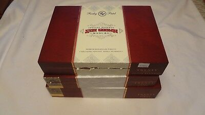 ROCKY PATEL SUNGROWN   Lot of 3  Wooden Cigar Boxes  Empty Lot # 148